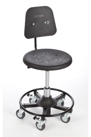 1007 - PUR, rolkruk, ergonomische rolkruk