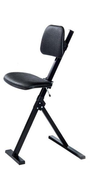 Global sta-zithulp zwart, sta-zithulpen, ergonomisch