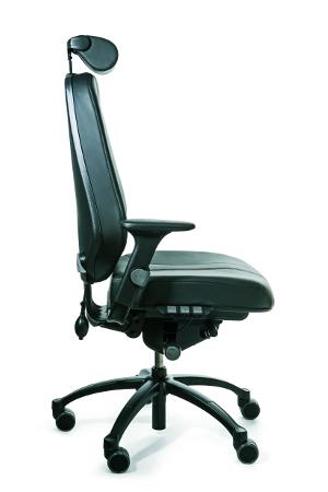 RH Logic 24-7 Rug Print, bureaustoel, 24 uur