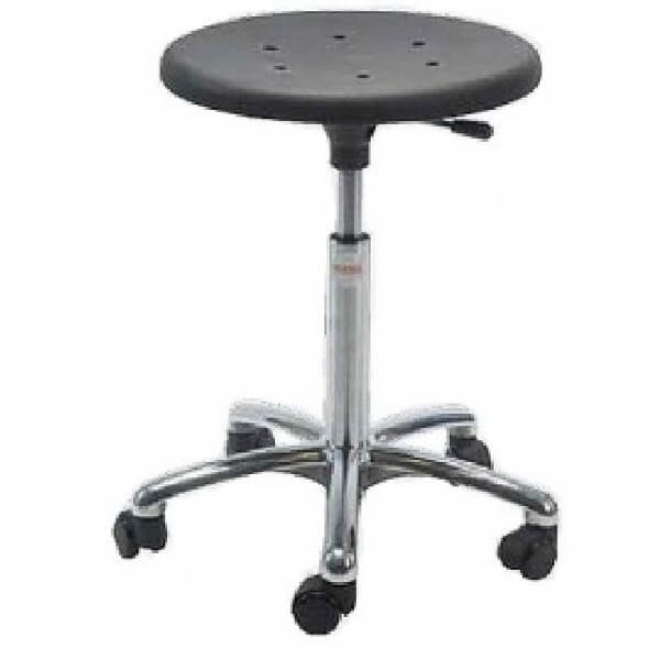 Alu50 - PUR, rolkruk, ergonomische rolkruk