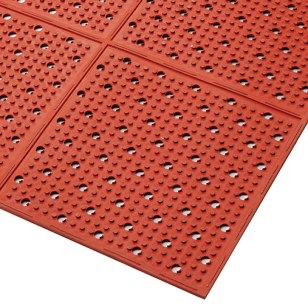 T23 Multimat RED, Anti-slip mat, werkvloermatten, keuken anti-slip, horeca mat, anti-slip horeca