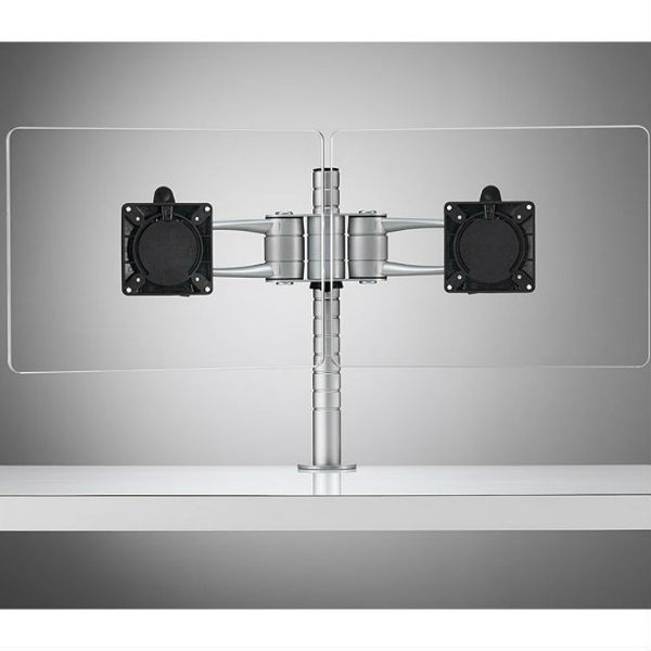 Wishbone dual monitorarm