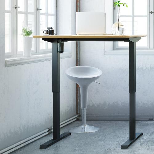 zit-sta bureau, ergonomie, thuiswerk