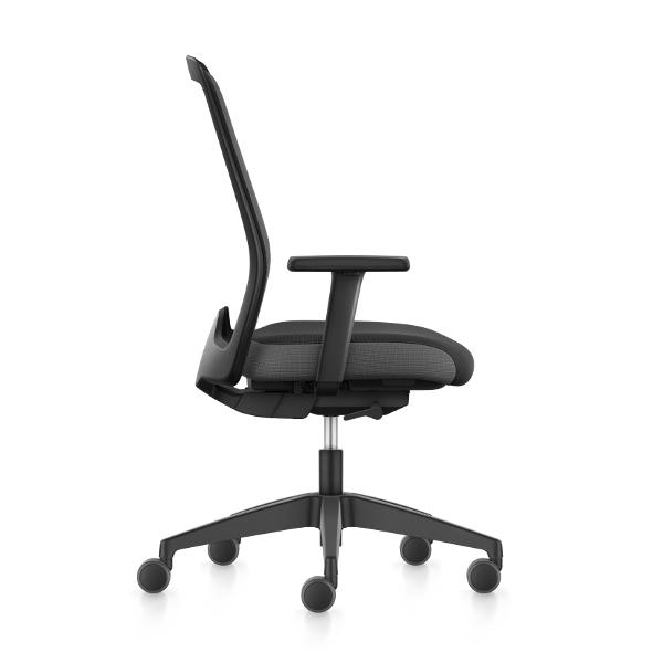 Interstuhl Every EV25R, thuiswerk bureaustoel ergonomische stoel