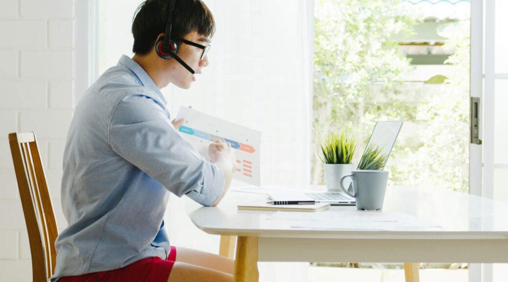 thuiswerk zit-sta bureau ergonomische bureaustoel