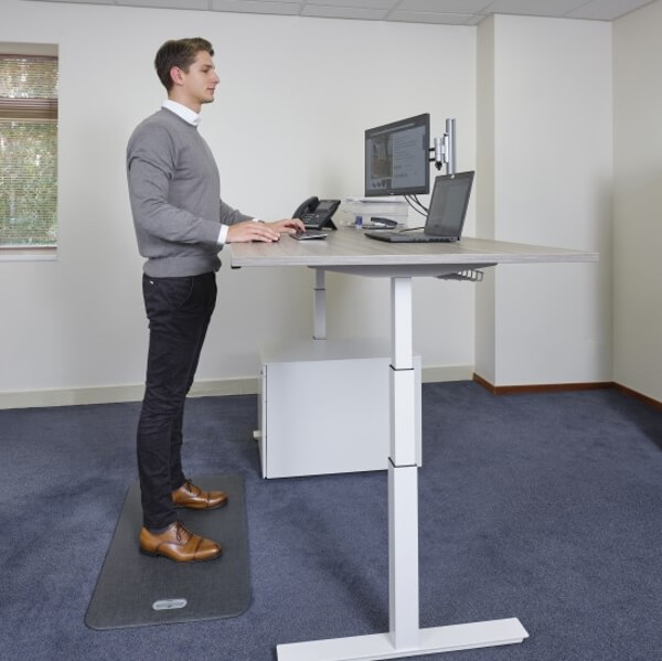 antivermoeidheidsmat, stamat, zit-sta bureau, thuiswerk